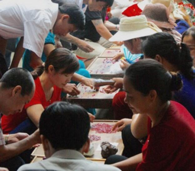 A journey to the Spinel Mines & Markets, Luc Yen, Vietnam