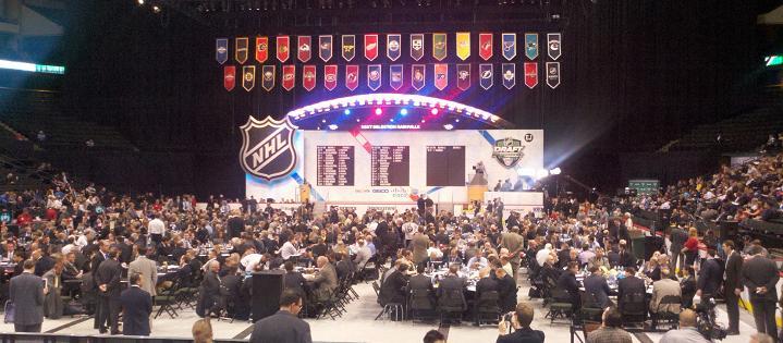 2011 Draft floor (busy)
