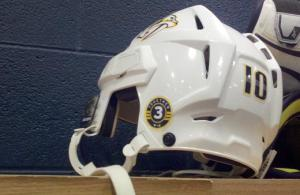 Wade Belak tribute on helmets