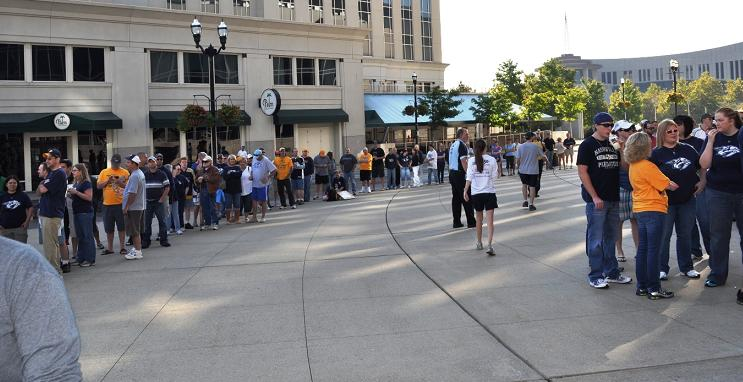 crowd ticket sales
