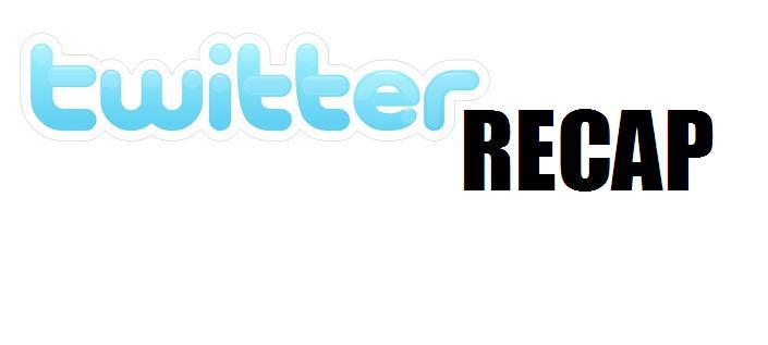 Twitter recap