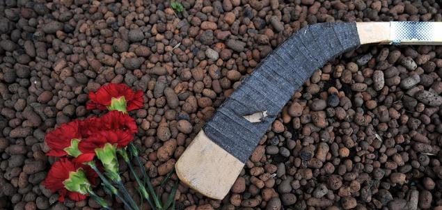 hockey mourning