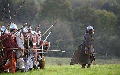 Battle of Hastings to be Hollywood film   Telegraph A re enactment of the Battle of Hastings  Battle of Hastings to be Hollywood