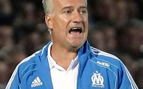 Didier Deschamps weighed down by explosive politics of being     Didier Deschamps weighed down by explosive politics of being Marseille  manager