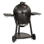 "45.2"" Akorn Kamado Charcoal Grill with Metal Side Shelves"