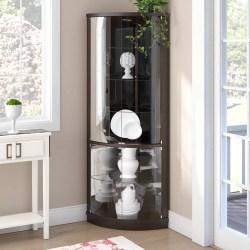 Small Crop Of Corner Curio Cabinet