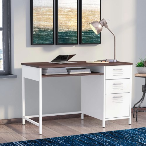 Medium Of Metal Computer Desk