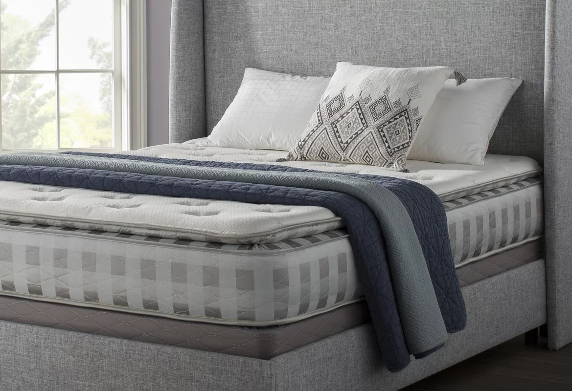 11inch Plush Pillow Top Memory Foam Mattress
