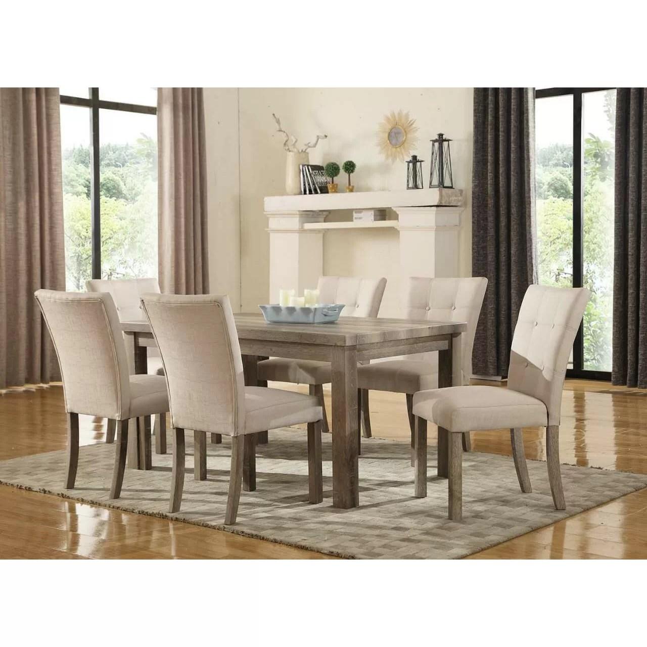 7 piece kitchen dining room sets c a~ wayfair kitchen chairs Urban 7 Piece Dining Set