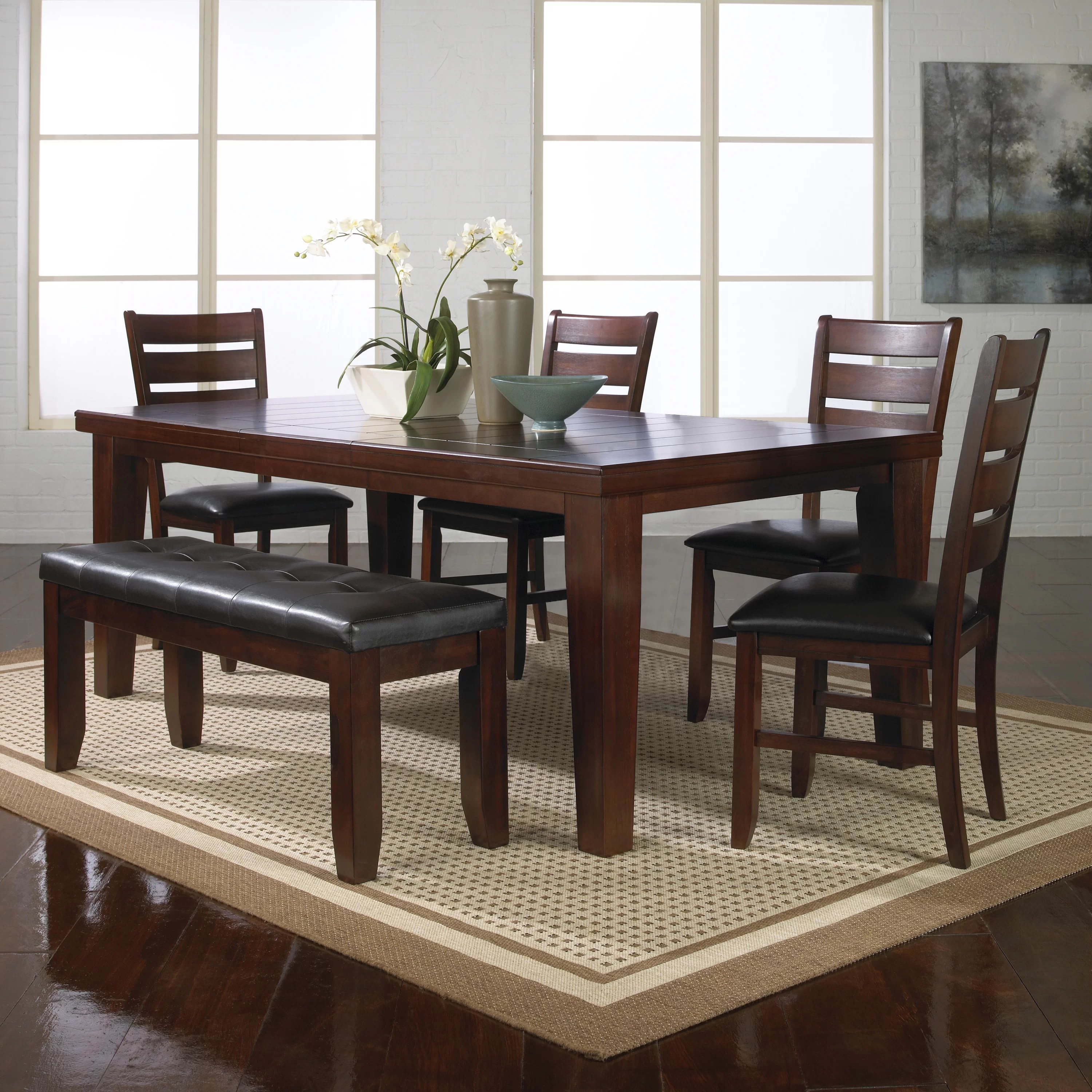 kitchen dining room sets c a~ beachy kitchen table Bardstown 6 Piece Dining Set