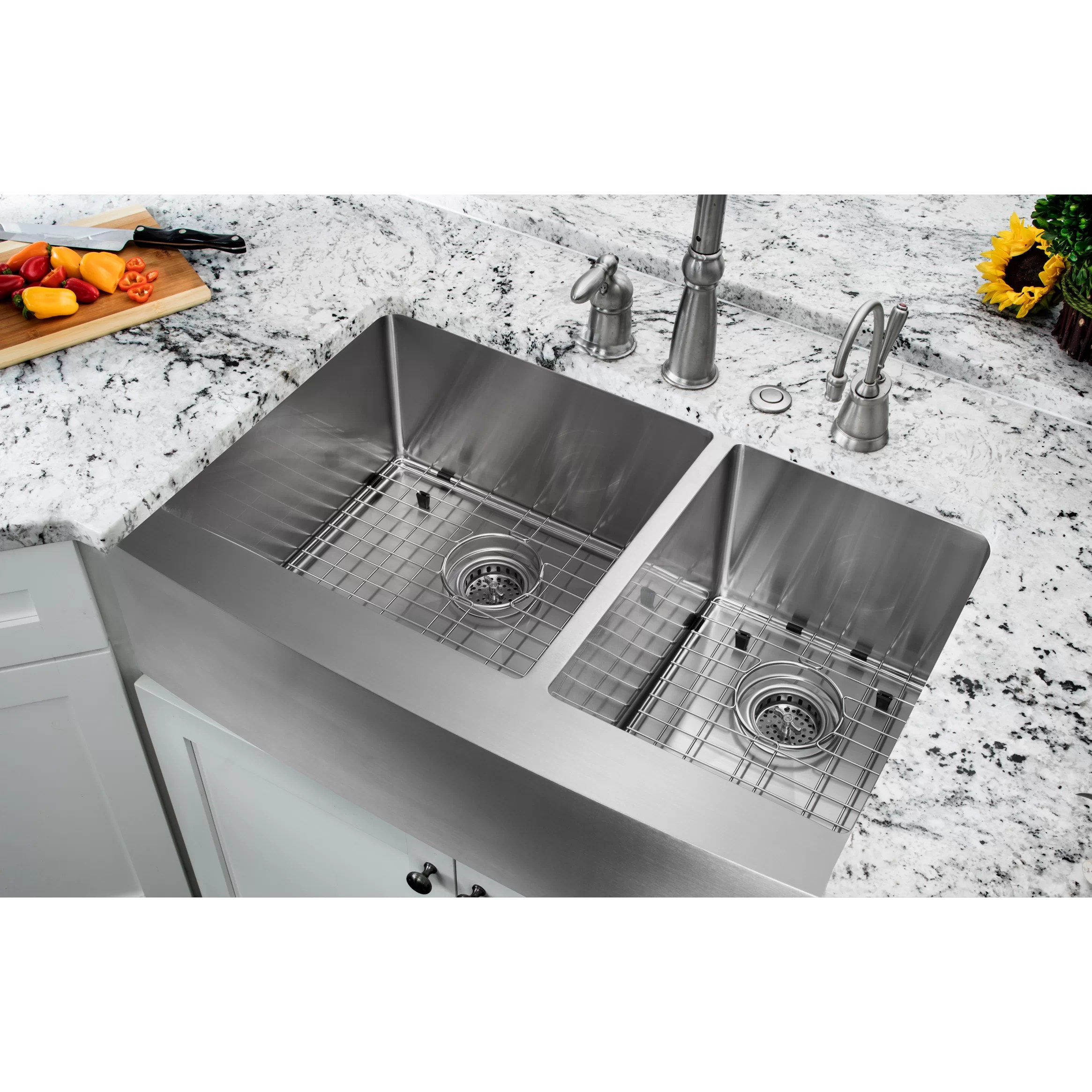 All Kitchen Sinks l c O~Farmhouse+ 5BS 5D+Apron apron front kitchen sink 35 20 75 Double Bowl Farmhouse Apron Kitchen Sink