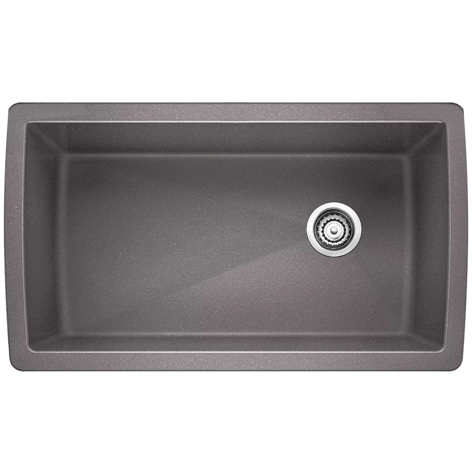 granite composite kitchen sinks c a~ white kitchen sink undermount QUICK VIEW White Diamond 33 5 18 5 Undermount Kitchen
