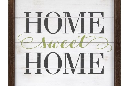 stratton home decor home sweet home framed textual art shd0260