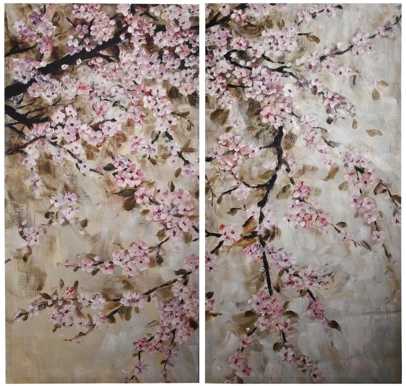 Large Of Cherry Blossom Painting