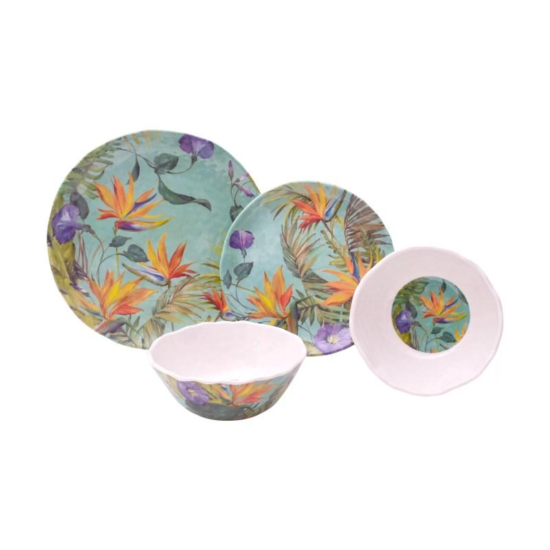 Large Of Melamine Dinnerware Sets