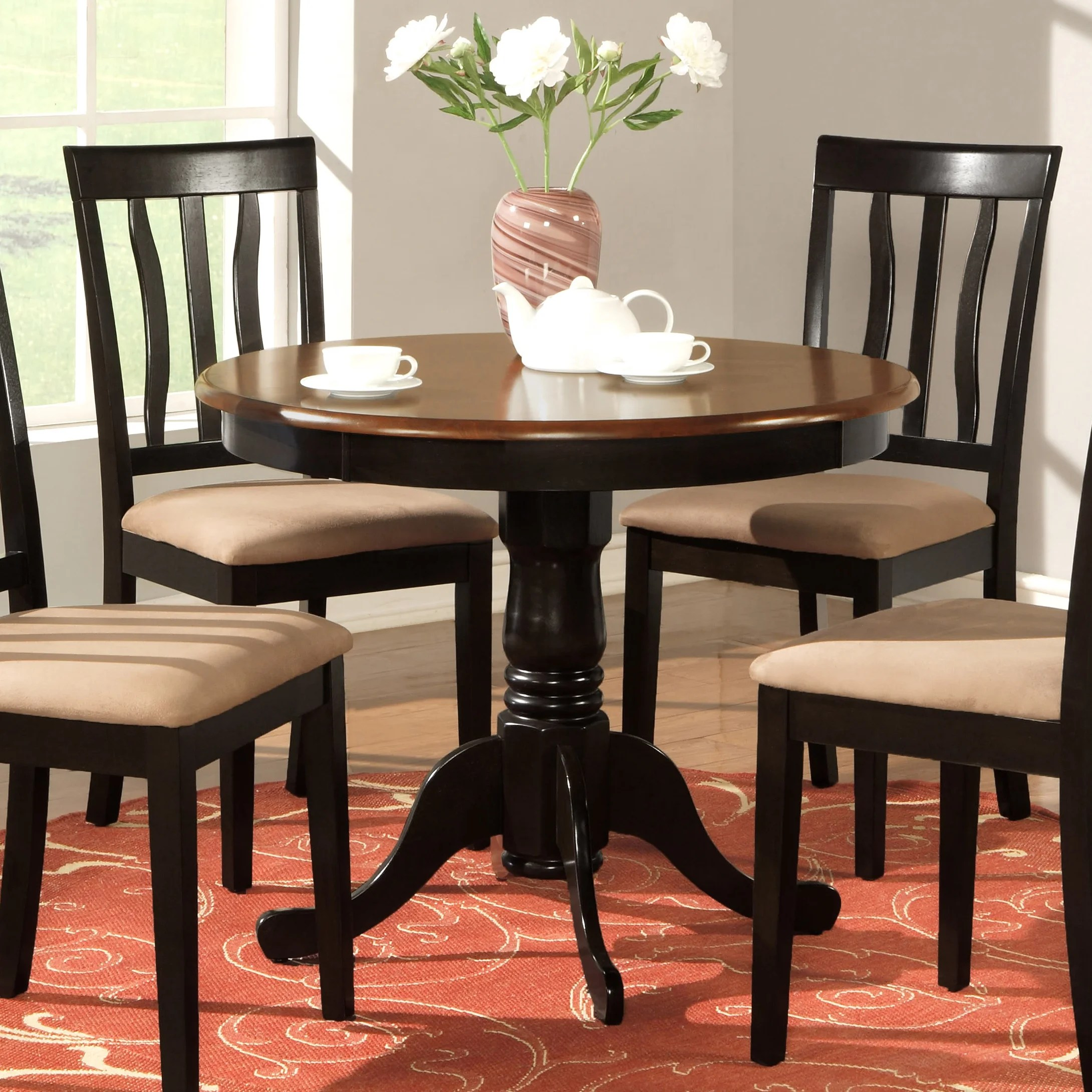 round kitchen dining tables c a~ round kitchen table Caledonia Dining Table