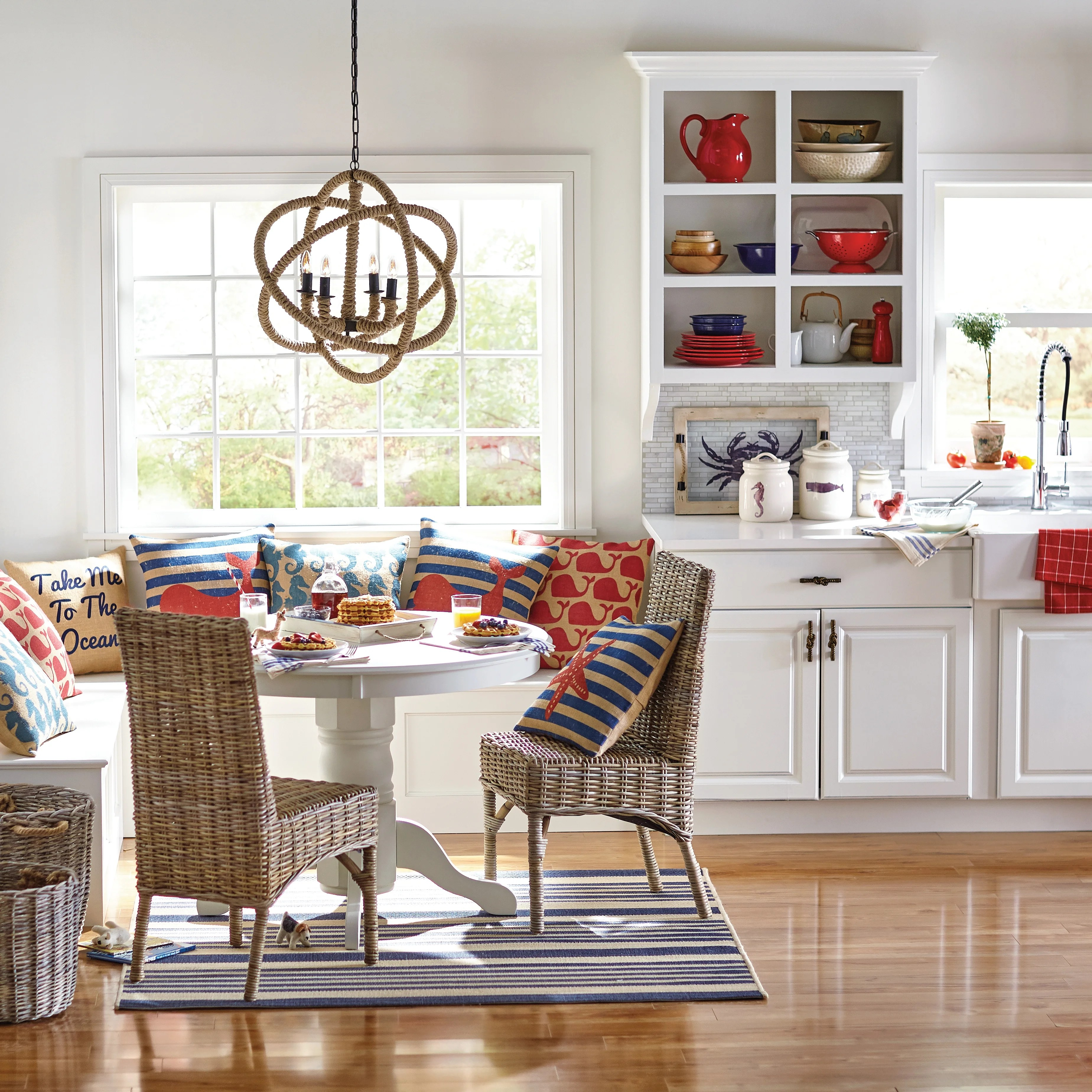 coastal kitchen dining tables c a~ beachy kitchen table Parkerton Pedestal Dining Table