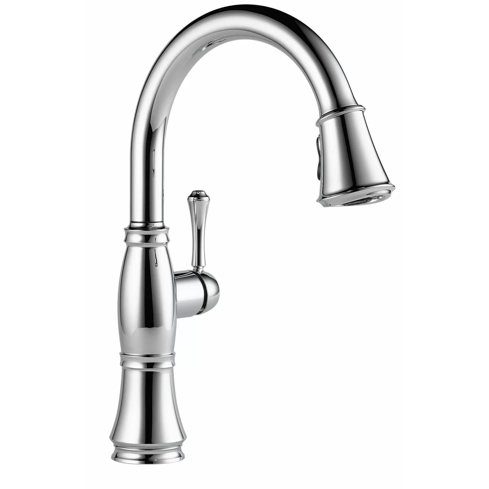 3 hole kitchen faucets c a~ widespread kitchen faucet Cassidy Single Handle Standard Kitchen Faucet with Spray