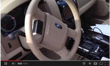 Car hacking video