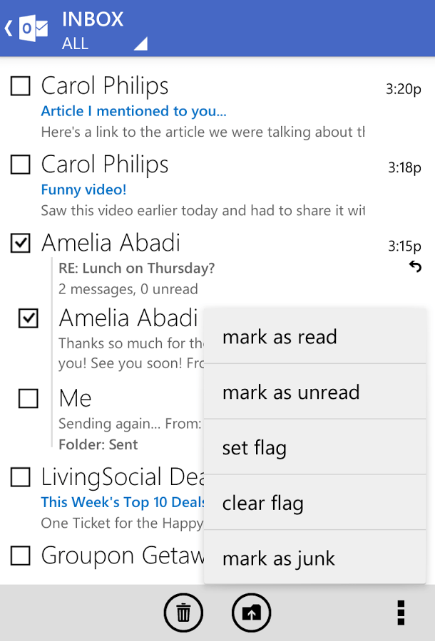 Outlook Android App Stores Emails In Plain Text On
