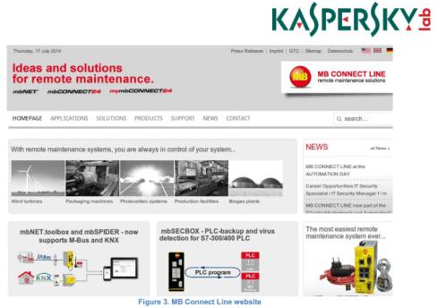 Energetic Bear APT campaign Kaspersky