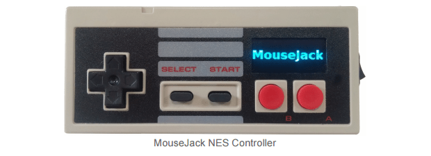 mousejack attack controller