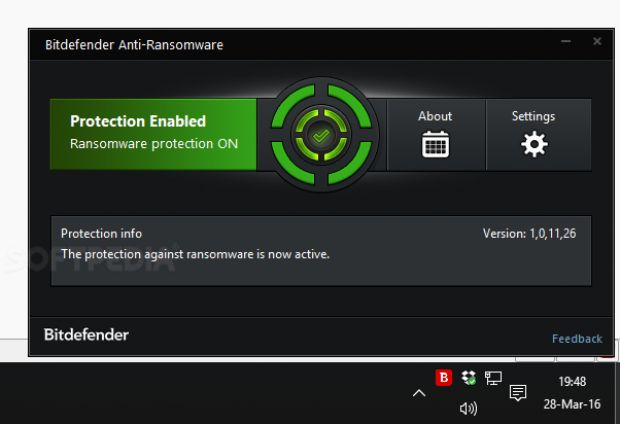 Bitdefender Anti-Ransomware application
