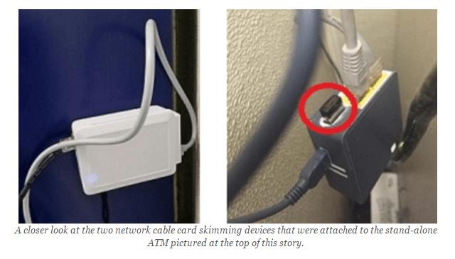 ATM skimming attacks Brian Krebs 2