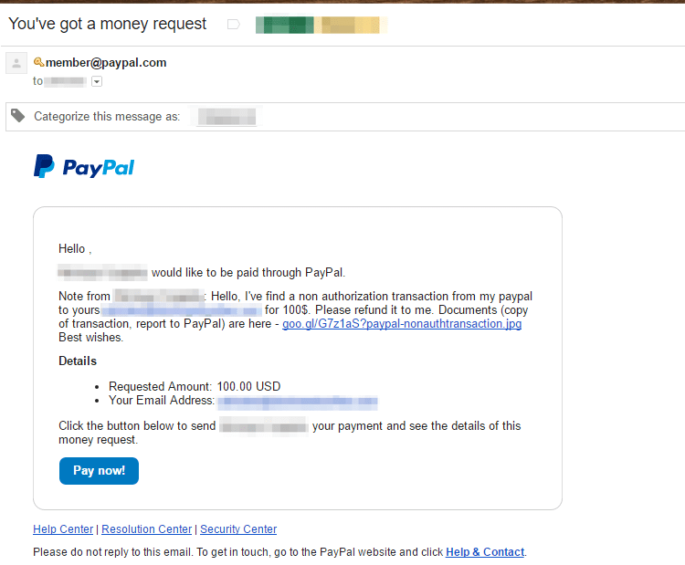 Chthonic Banking Trojan PayPal