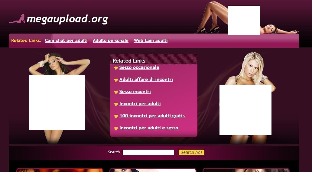 megaupload.org adult content censored