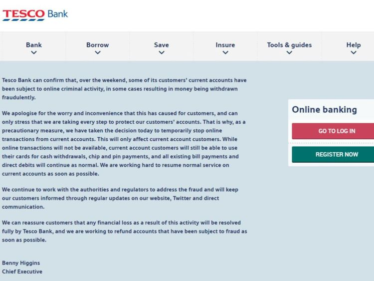 Tesco bank -cyber-heist