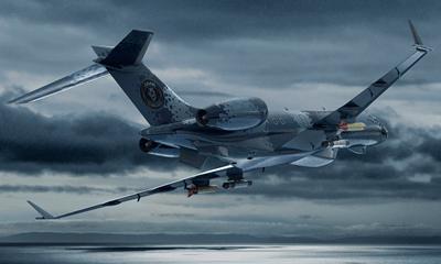 Aircraft flying high for Maritime Surveillance