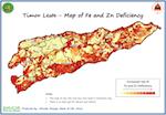 Fe & Zn deficiency map