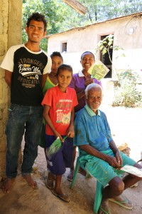 Domingos Mendonca and his family are happy to be producing Nakroma rice as contract growers for the Ministry of Agriculture and Fisheries