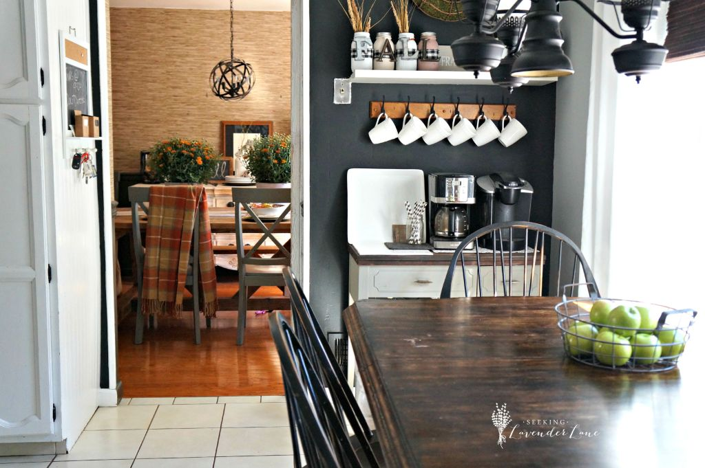 Fall touches in the kitchen