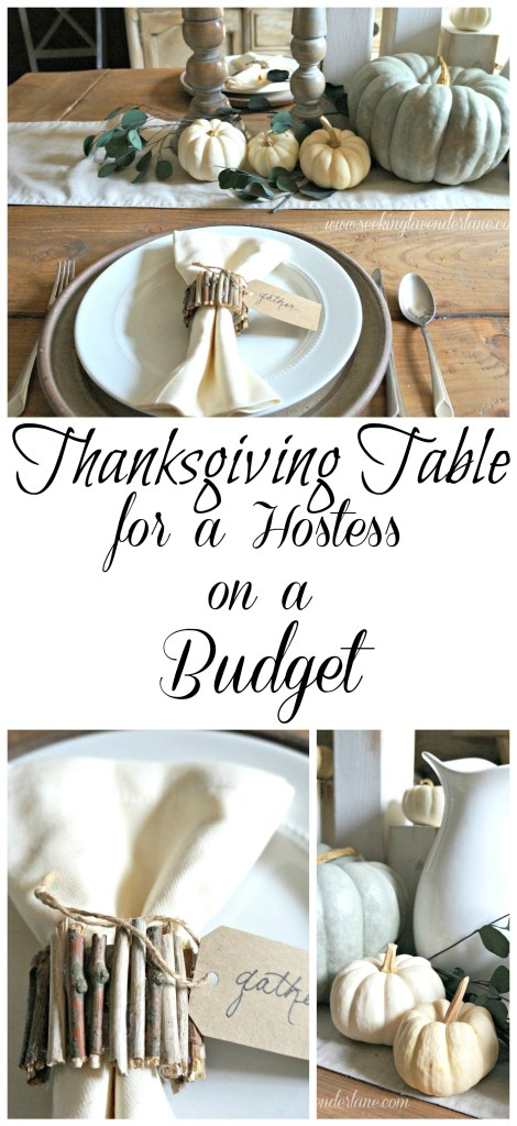 Thanksgiving Table Collage