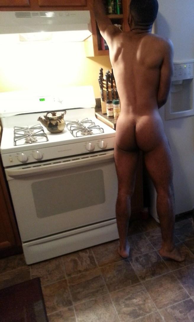 cock Hung selfie black