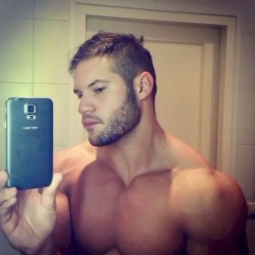 Scruff Men Selfie