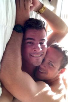 horny sexy gay amateur couple in love