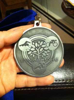 This is my husband's medal from last year. Will this be mine, all mine??