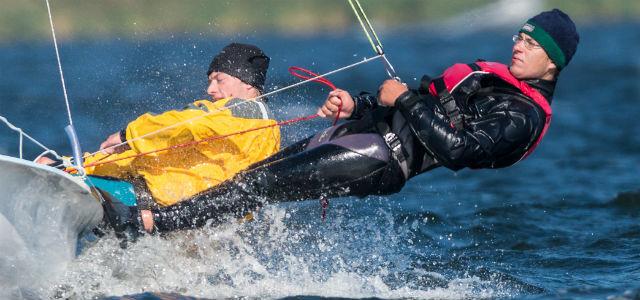Das 470er-Dreamteam: Malte Winkel und Matti Cipra
