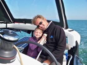 Vater und Tochter – bis zuletzt ein Herz und eine Seele © hachet