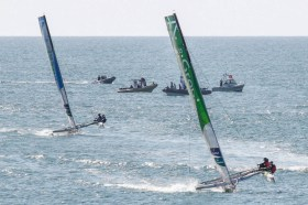 Tour de France à la Voile, Spindrift, Groupama, Diam 24