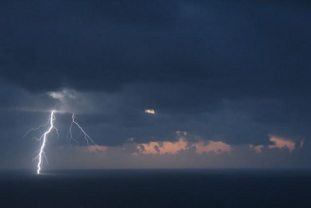 Gewitter, Meer