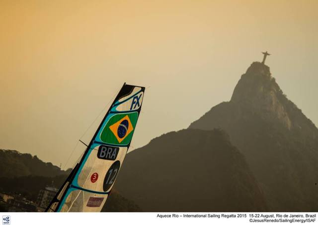 Segeln im Schatten des Corcovado. Eigentlich ein Traumrevier. © Martinez/Sailingenergy
