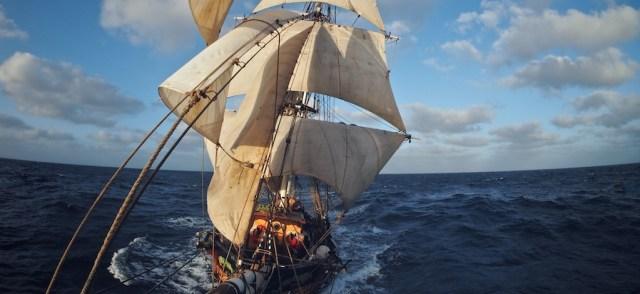Segelfrachter, Tres Hombres, Abenteuer, Buch