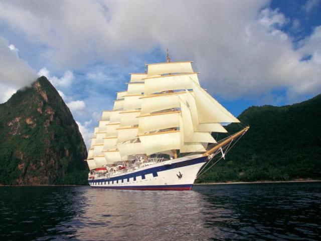 Kreuzfahrt, Cruising, größtes Segelschiff der Welt