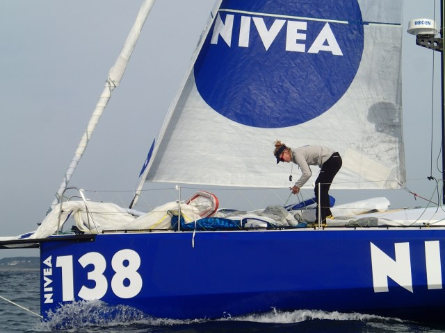 Anna Maria Renken, Class 40, Nivea, Hochseesegeln