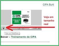 Modelo de treinamento de CIPA