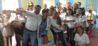 Voluntarios de BBVA Provincial visitan a pequeños pacientes del Hospital Universitario de Caracas